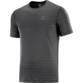 Salomon Outline SS Tee Men, black/heather